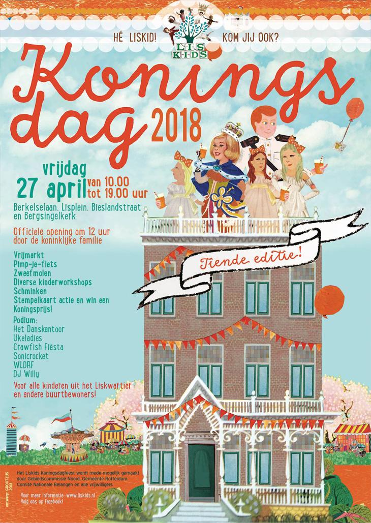 Liskids - Koningsdag 2018 - Flyer