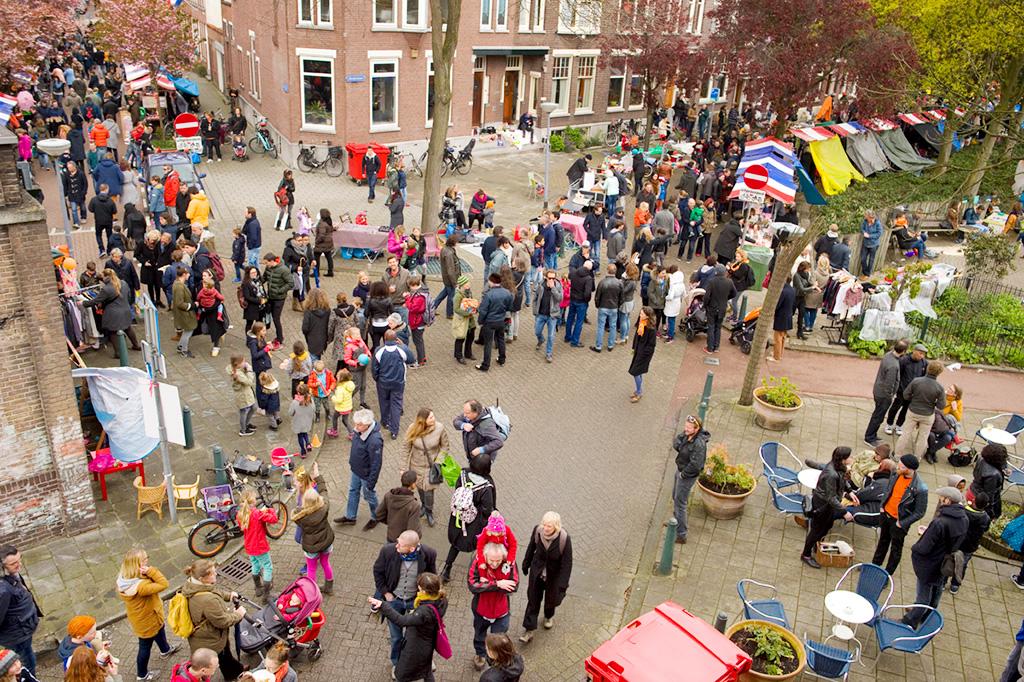 Liskids Koningsdag 2016 Vrijmarkt