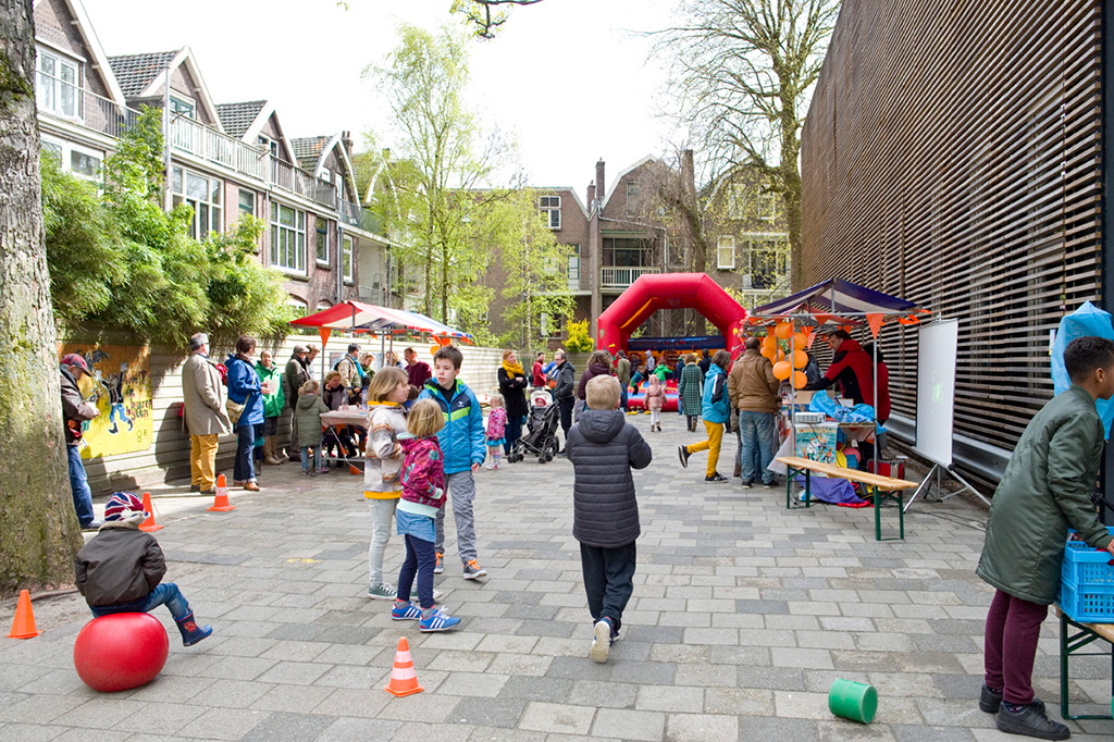 Liskids Koningsdag 2016 Publiek oud Hollandsche Spelletjes