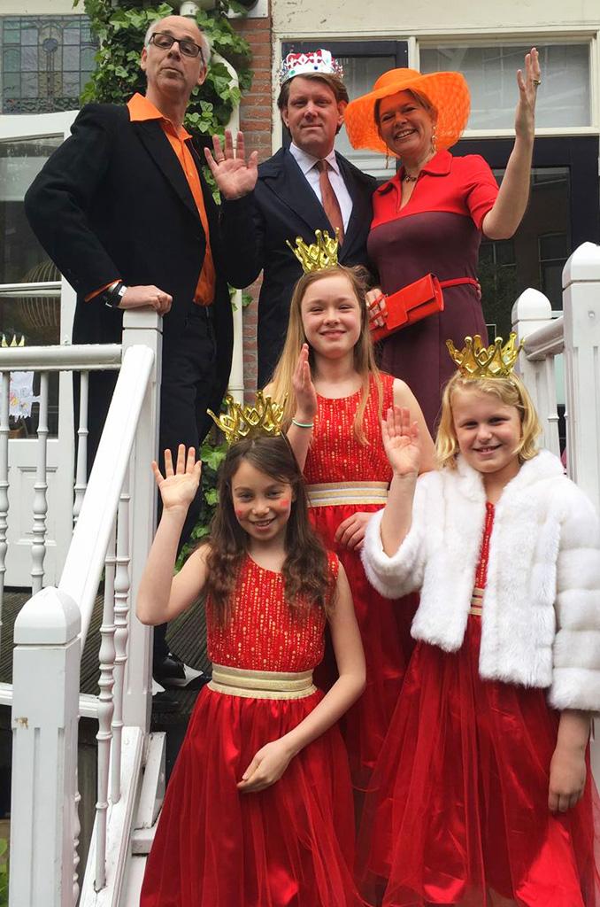 Liskids - koningsdag 2017 - koninklijke Familie